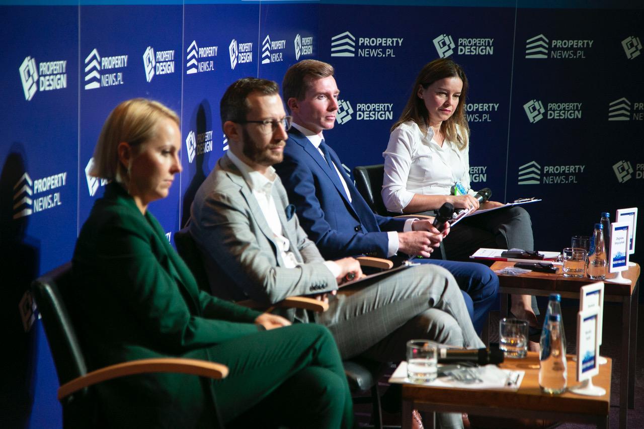 Od lewej: Monika Duda, Damian Kołata, Zbigniew Smyczyński oraz Danuta Dzierżak. Fot. PTWP (Paweł Pawłowski)