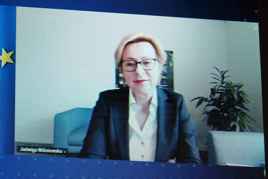 Jadwiga Wiśniewska, poseł do Parlamentu Europejskiego (Fot. PTWP).