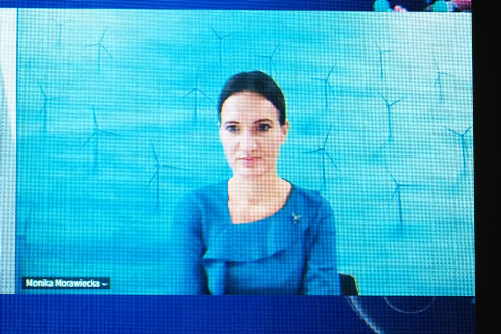 Monika Morawiecka, prezes zarządu PGE Baltica (Fot. PTWP).