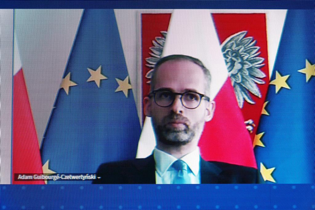 Wiceminister klimatu Adam Guibourgé-Czetwertyński (Fot. PTWP).