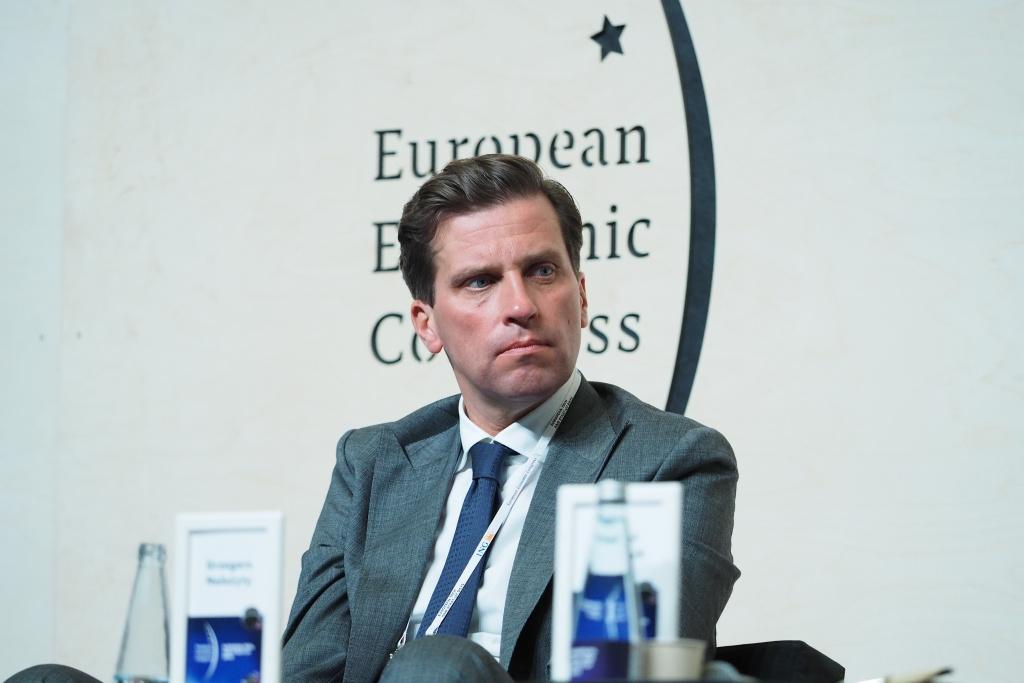 Grzegorz Należyty, prezes zarządu Siemens Energy (Fot. PTWP).