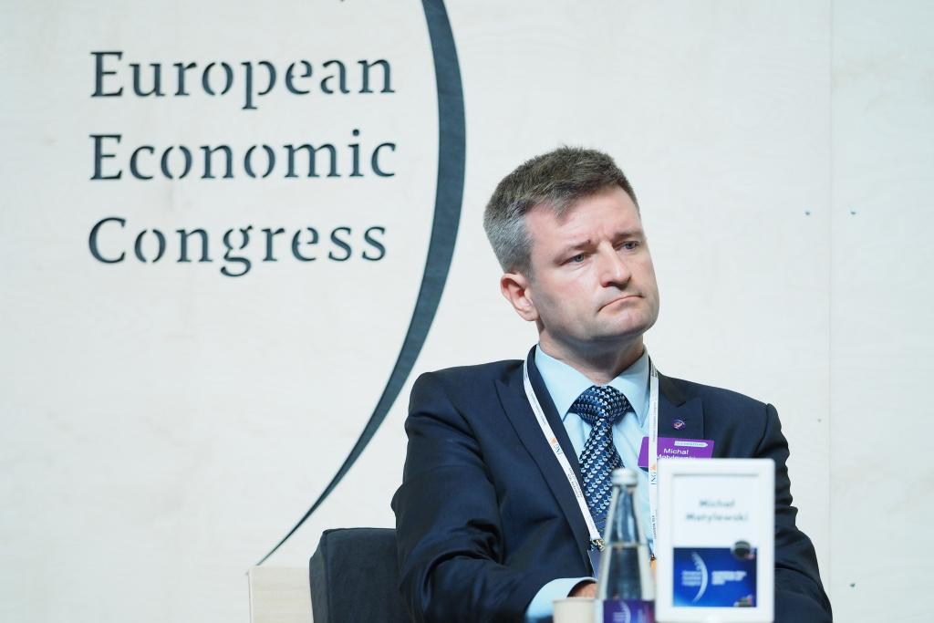 Michał Motylewski, managing counsel w kancelarii Dentons (Fot. PTWP).