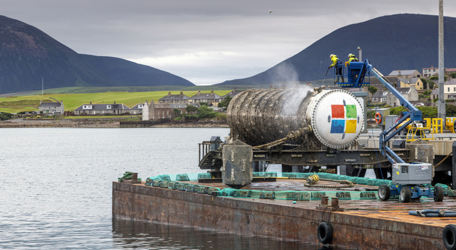 Microsoft wyłowił podwodne centrum danych