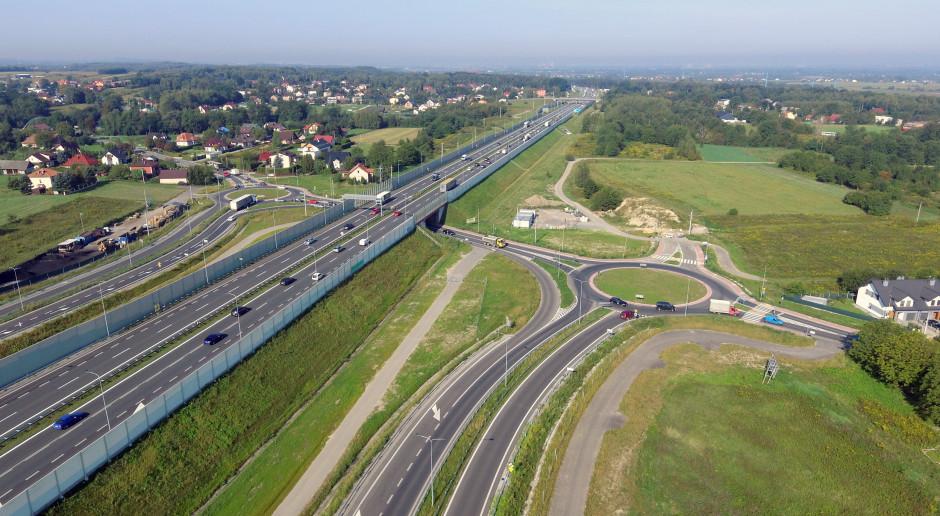 Powstanie obwodnica łącząca autostradę A4 z Niepołomicką Strefą Inwestycyjną
