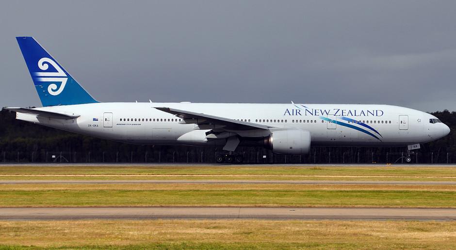 Air New Zealand zwalnia personel latający