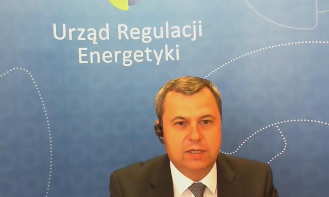 Rafał Gawin, prezes Urzędu Regulacji Energetyki (mat. PTWP).