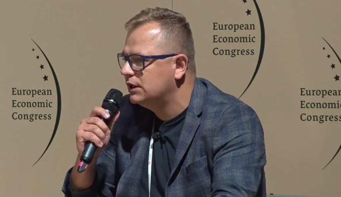 Dawid Zieliński, prezes zarządu Columbus Energy (mat. PTWP).