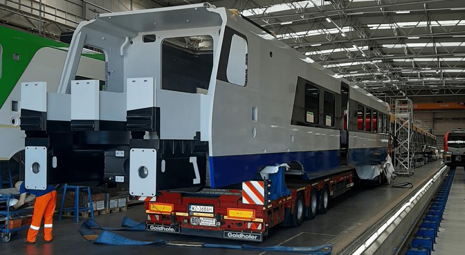 W Stadler Polska już budują aluminiowe pociągi dla PKP Intercity