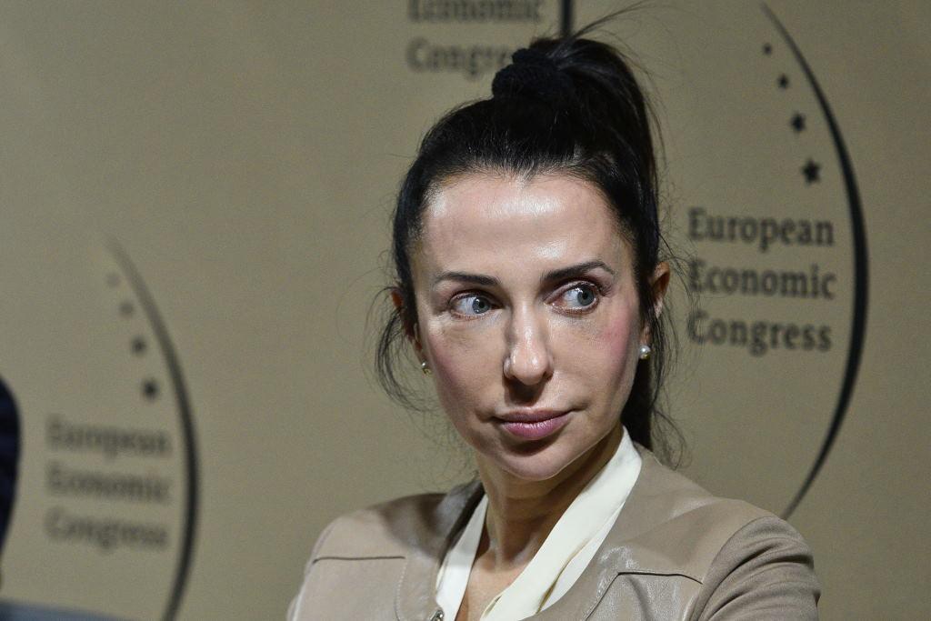 Barbara Piontek, zastępca prezesa Katowickiej Specjalnej Strefy Ekonomicznej i profesor na Akademii WSB w Dąbrowie Górniczej. Fot. PTWP