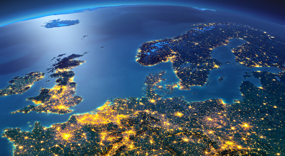 Europa powitała Nowy Rok 2021