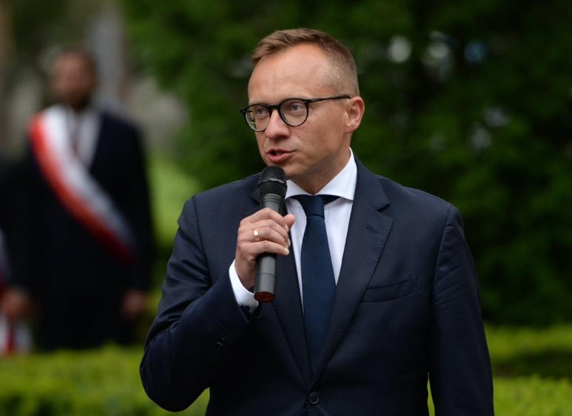 Artur Soboń, wiceminister aktywów państwowych (Fot. twitter.com-sobonartur)