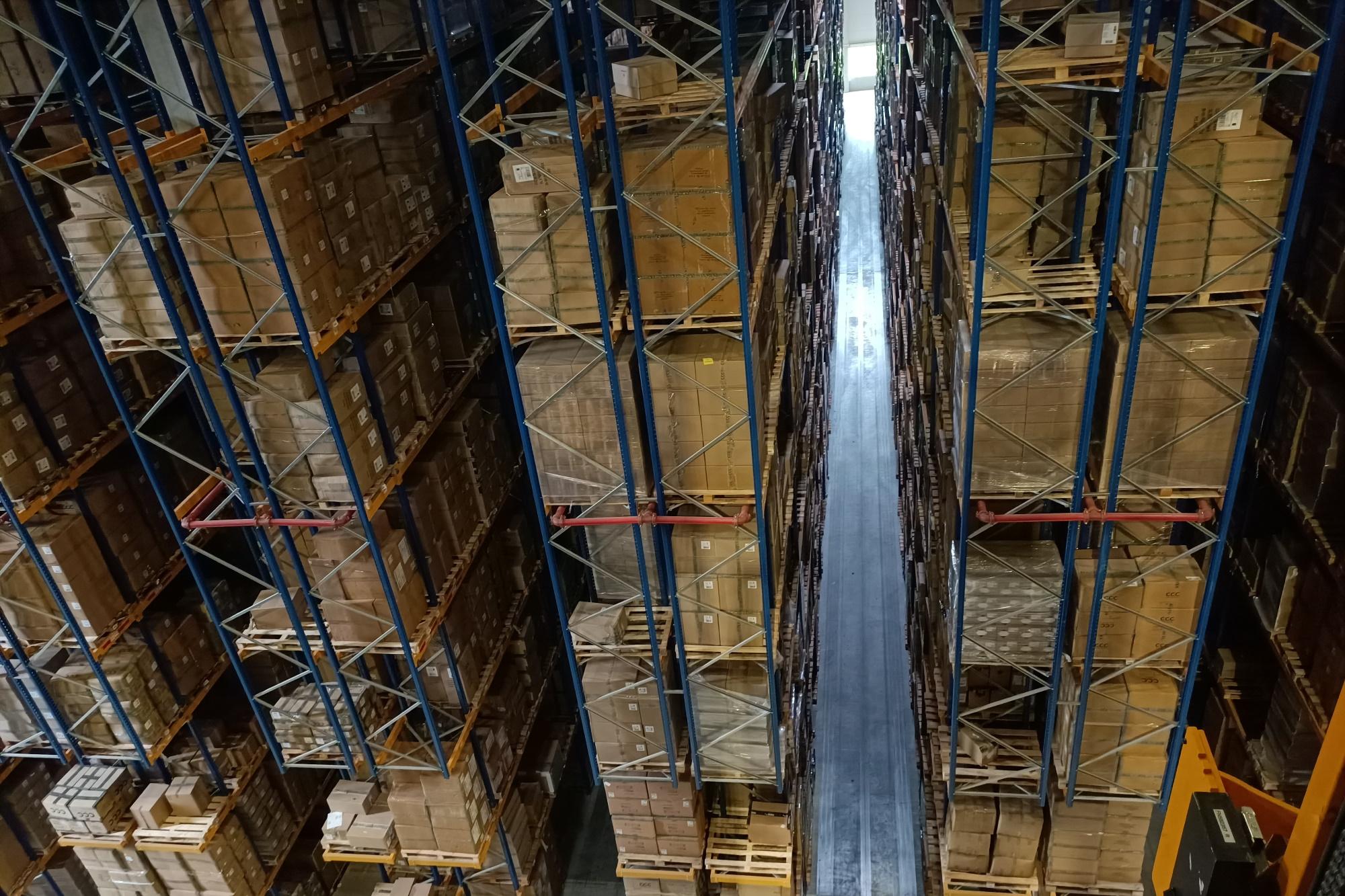 W sumie centrum logistyczne CCC w Polkowicach to magazyny o powierzchni ponad 110 tys. m2, które mogą pomieścić 20 milionów par butów i torebek plus różnego rodzaju akcesoria. Fot. mat. pras.