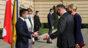 Ukraina: Wołodymyr Zełenski życzy Andrzejowi Dudzie powrotu do zdrowia