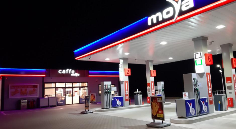 Kolejne stacje benzynowe w sieci Moya