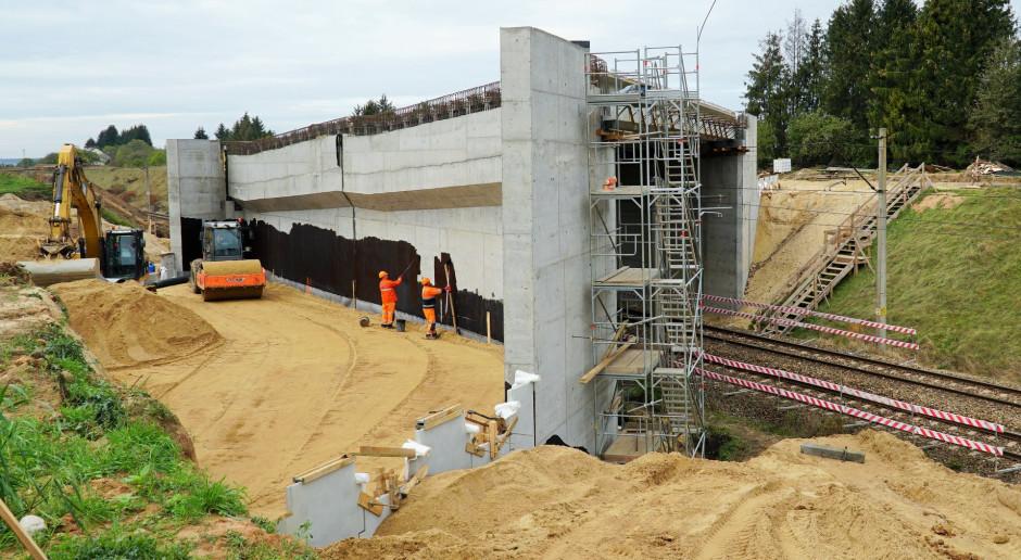 Powstaje ważny wiadukt nad Rail Baltica