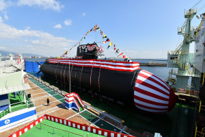 Japońska marynarka ma nowy okręt podwodny
