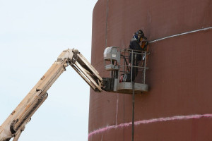PERN wybrał nową metodę dla montażu swoich zbiorników