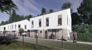 Unihouse zbuduje osiedle drewnianych domów jednorodzinnych