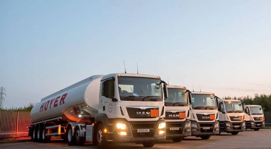 Strajk brytyjskich kierowców samochodowych cystern paliwowych