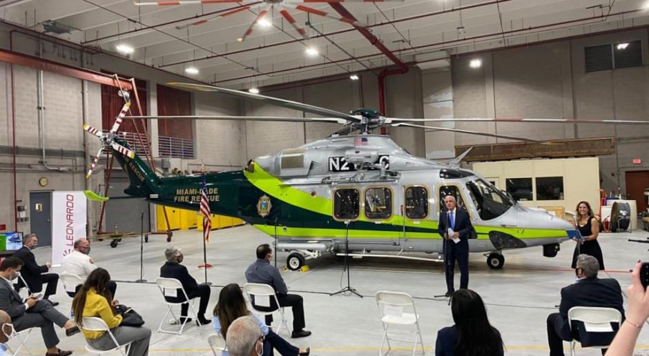 AW139 w służbie straży pożarnej Miami
