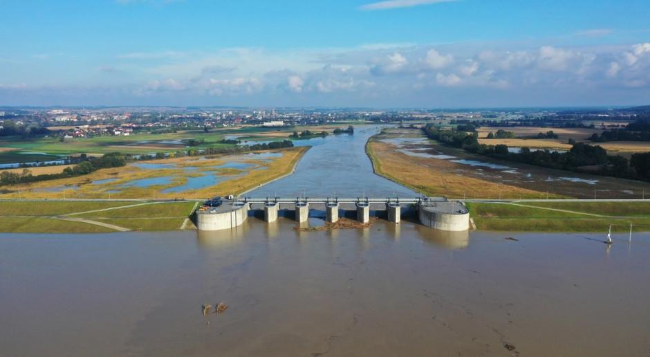 Zbiornik Racibórz Dolny zredukował falę powodziową o 30 proc.