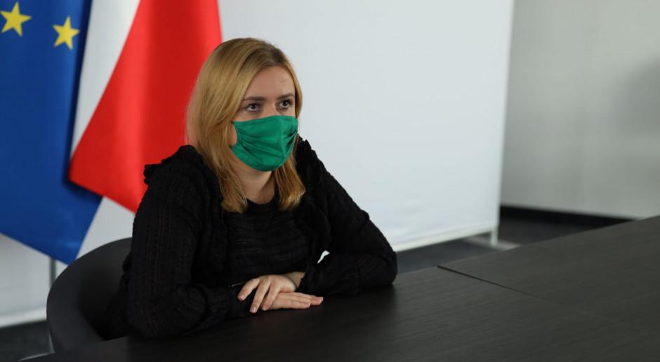 Olga Semeniuk: będę nadzorować departament dialogu i partnerstwa społecznego