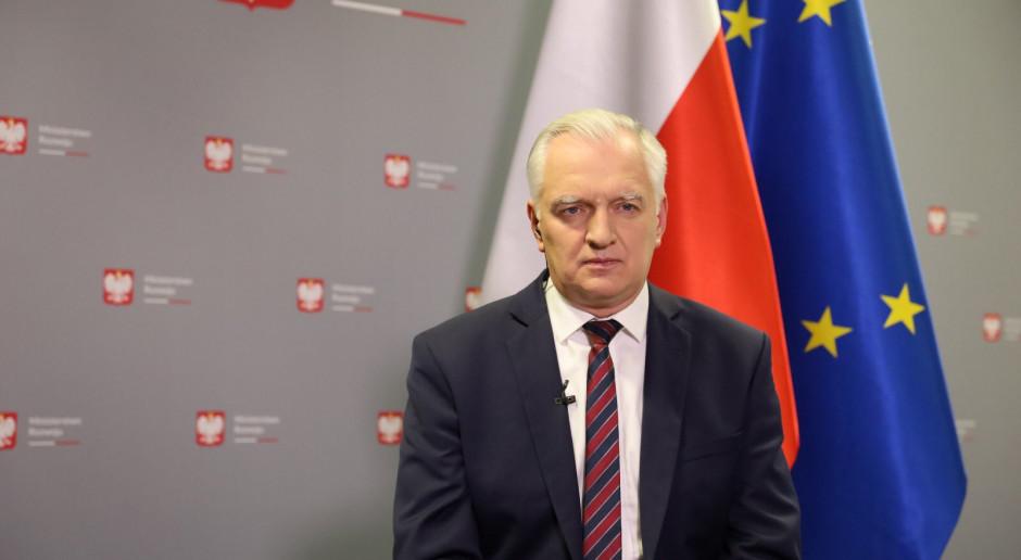 Jarosław Gowin: odporność polskiej gospodarki na kryzys większa, niż wielu sądziło