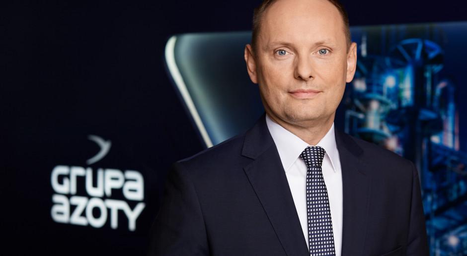 Mariusz Grab nowym prezesem Grupy Azoty Police