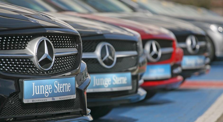 Producent Mercedesa zaskakuje wynikami