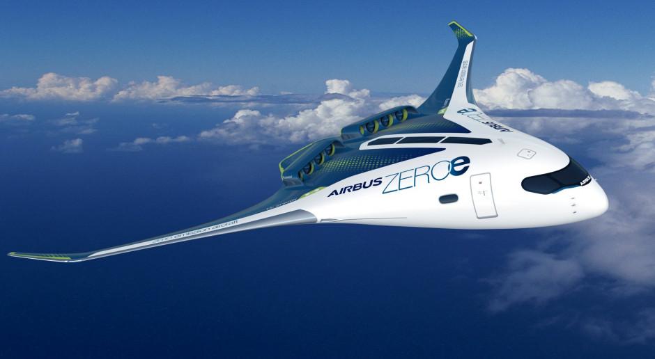 Airbus idzie w wodór. Pierwsze samoloty w 2035 roku
