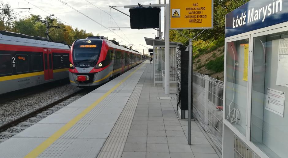 Kolejarze finiszują z budową nowych przystanków w Łodzi