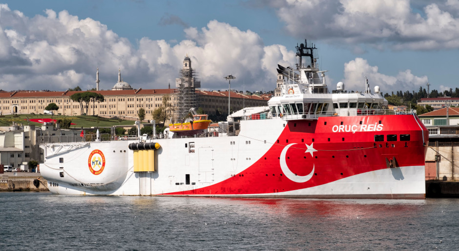 Turcja przedłuża kontrowersyjne badania na Morzu Śródziemnym