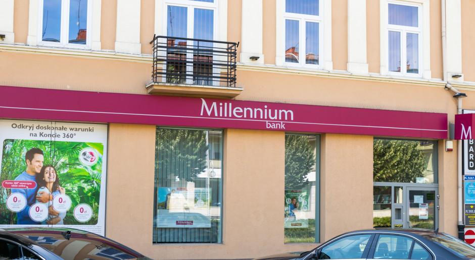 Bank Millenium stracił 3/4 zysku, ale notuje też poprawę