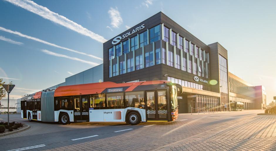 Trolejbusy Solaris dotarły do Norwegii