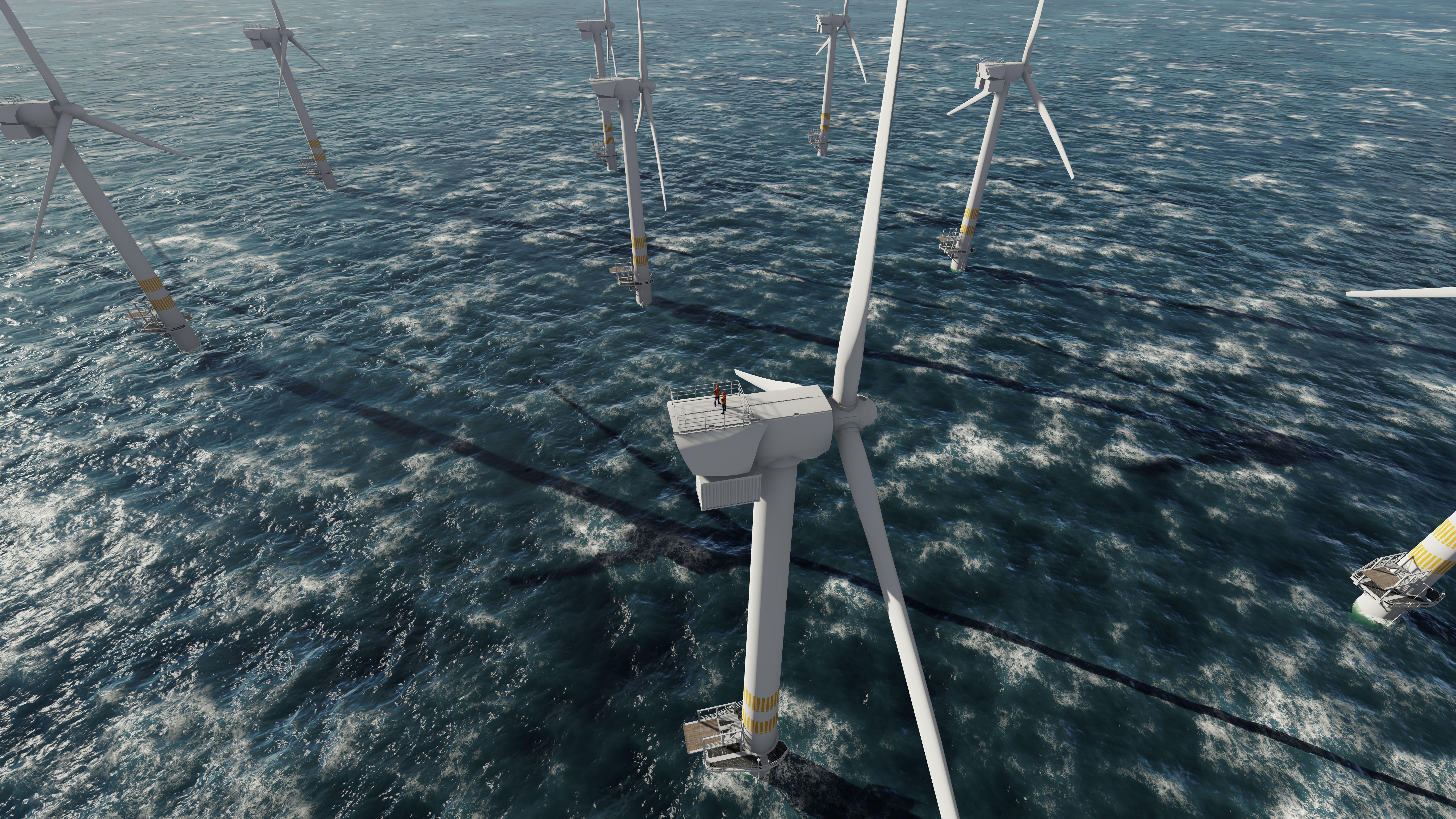 W celu osiągnięcia większego udziału OZE japońskie korporacje domagają się m.in. łatwiejszego dostępu do wód przybrzeżnych i linii brzegowej, które mogą zostać wykorzystane pod budowę farm wiatrowych. Fot. Shutterstock