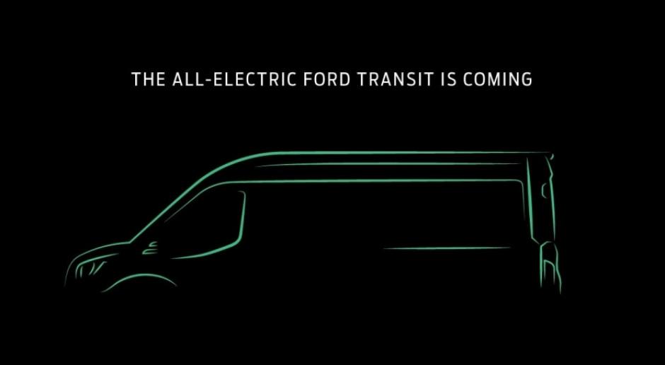 Ford szykuje elektrycznego Transita