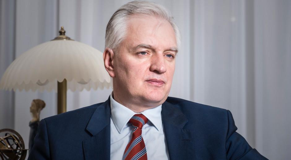 Jarosław Gowin: obecna pomoc ma charakter doraźny