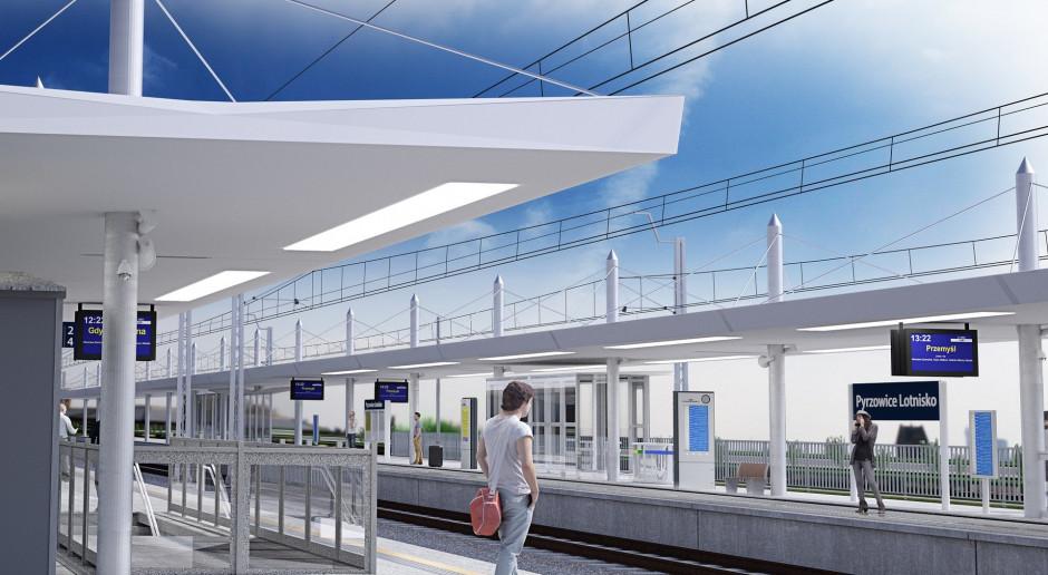 PLK podpisały umowę na odbudowę linii do lotniska Katowice