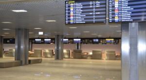 Ogromny spadek liczby pasażerów lotniska