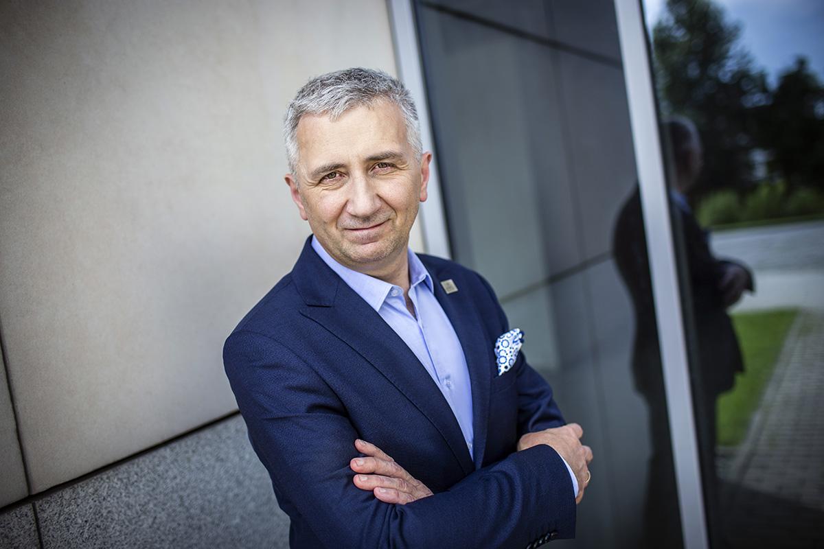 Wojciech Ignacok, prezes zarządu Tauron Polska Energia ( Fot. Jeremi Astaszow)
