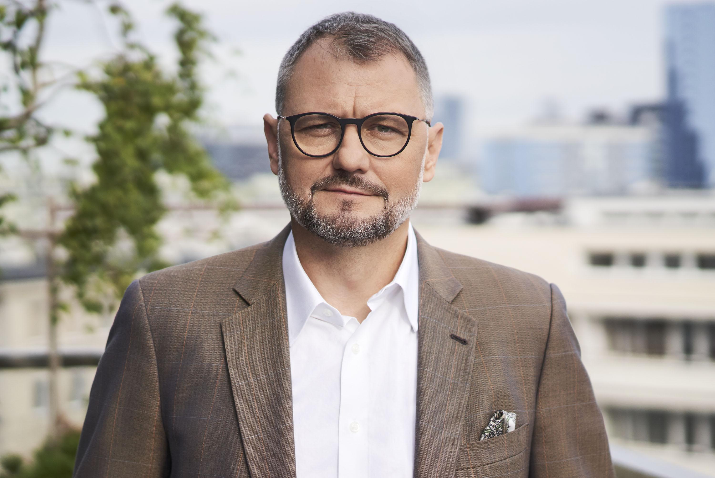 Krzysztof Zamasz, prezes Veolia Energy Contracting Poland ( Fot. mat  Veolia Energy Contracting Poland).