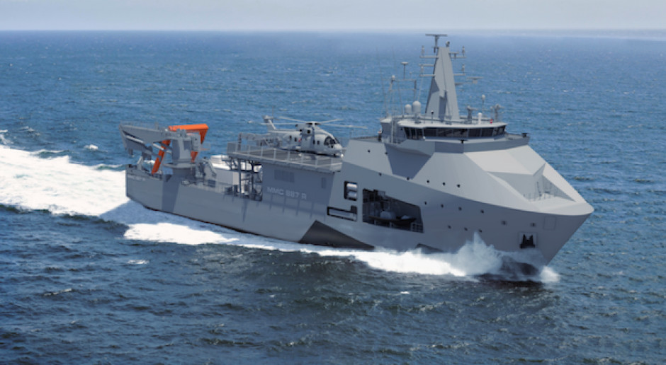 Są zarzuty ustawiania przetargu na okręt za niemal 1,5 mld zł