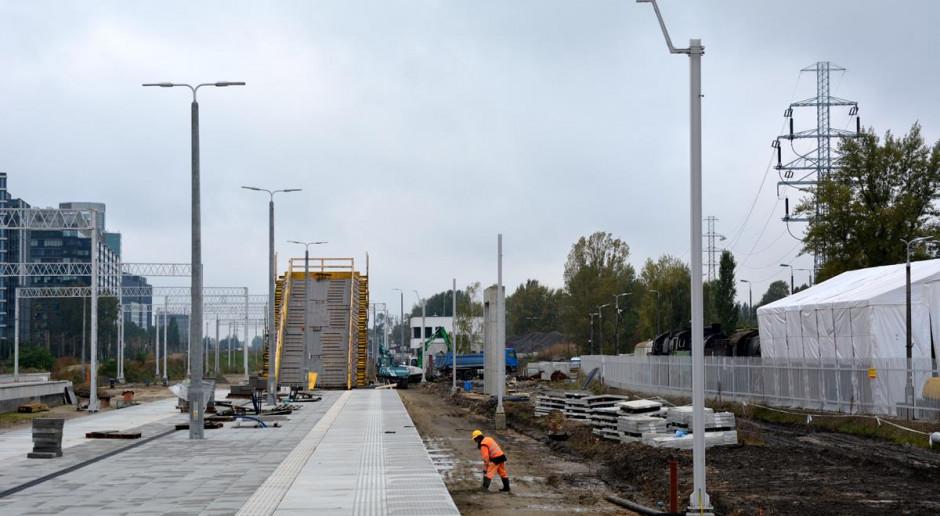 Budowa stacji Warszawa Główna coraz bardziej zaawansowana