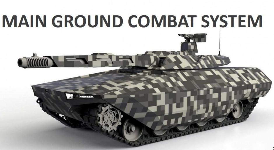 Wizja przyszłego europejskiego czołgu nowej generacji, rys. Rheinmetall