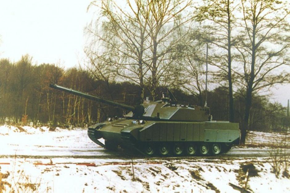 Goryl - wizualizacja czołgu podstawowego III generacji. Fot. OBRUM Gliwice