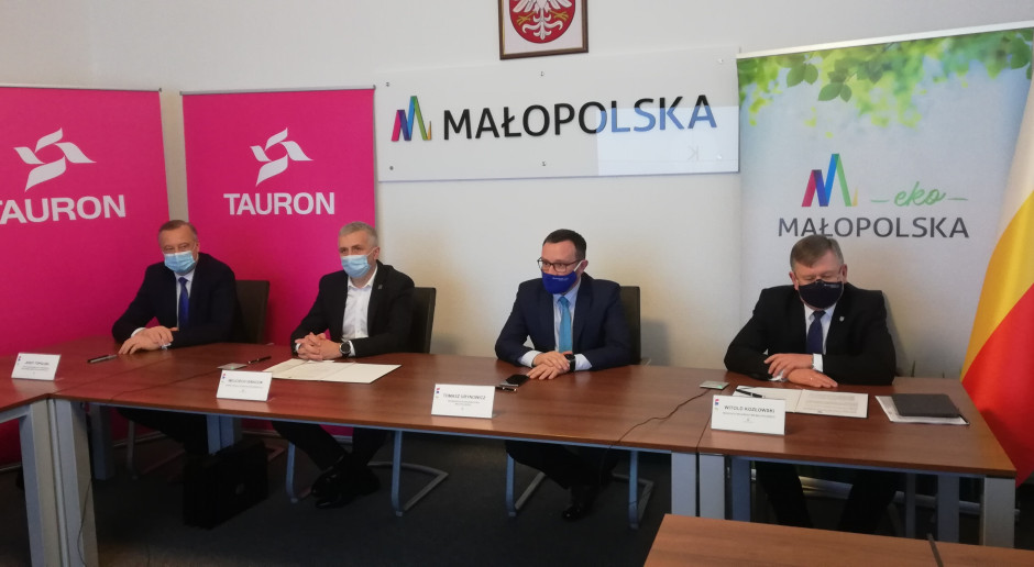 Tauron angażuje się w transformację energetyczną Małopolski