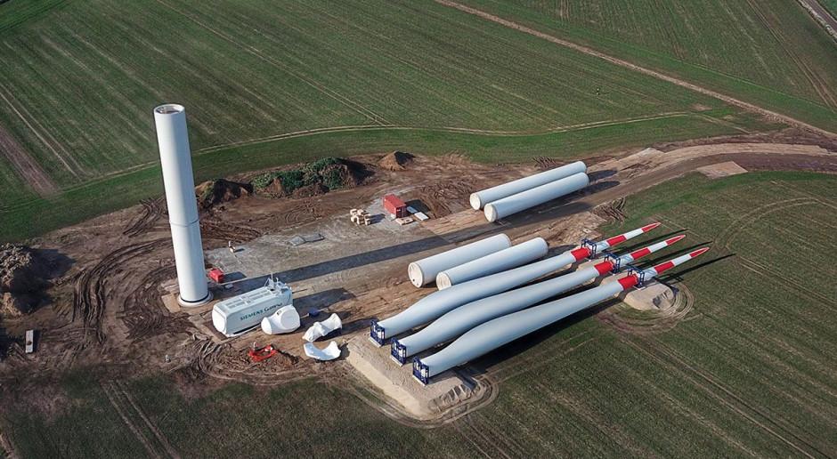 Kluczowy moment na budowie farmy wiatrowej Polenergii