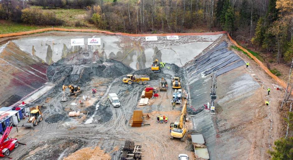 Rozpoczęło się drążenie tuneli na budowie drogi S1 Przybędza - Milówka