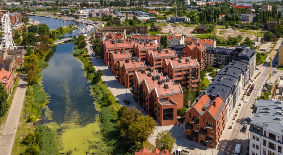 W Gdańsku ukończono energooszczędne osiedle mieszkaniowe