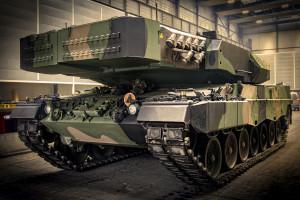 Kolejne czołgi Leopard 2PL wyruszają do Wesołej